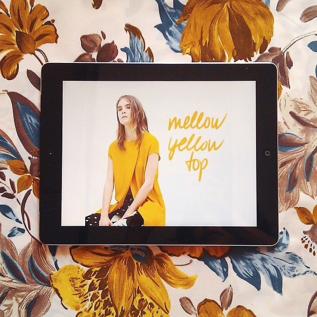 It's all about mellow yellow today at the new issue of editors' choice! Link in bio. // @liketoknow.it www.liketk.it/1niSb #liketkit