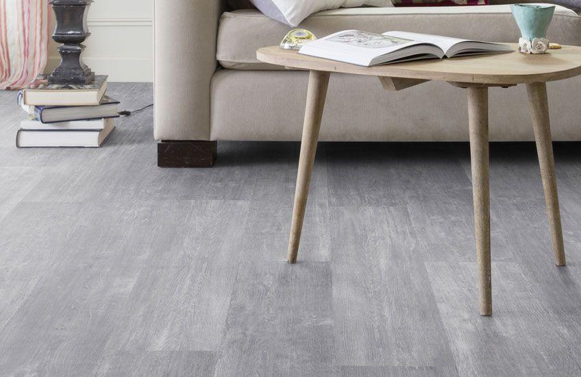Pvc vloer met houtlook. geschikt voor alle ruimten zoals de badkamer