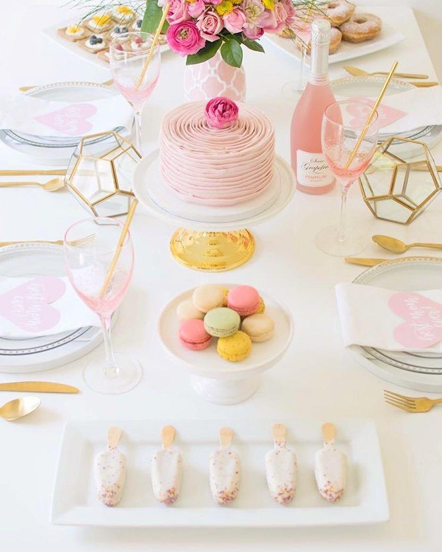 Super Beautiful Party Idea By @twinkletwinklelittleparty