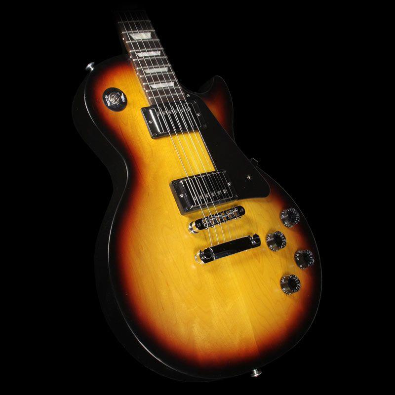 Gibson Les Paul Studio Faded Electric Guitar Satin Fireburst