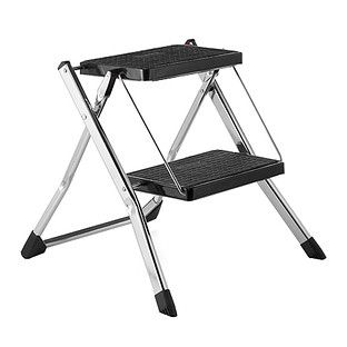 Chrome Slim Folding Step Stool In 2019 Compact Table