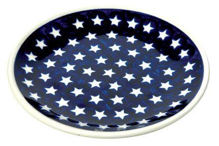Stars Dessert Plate
