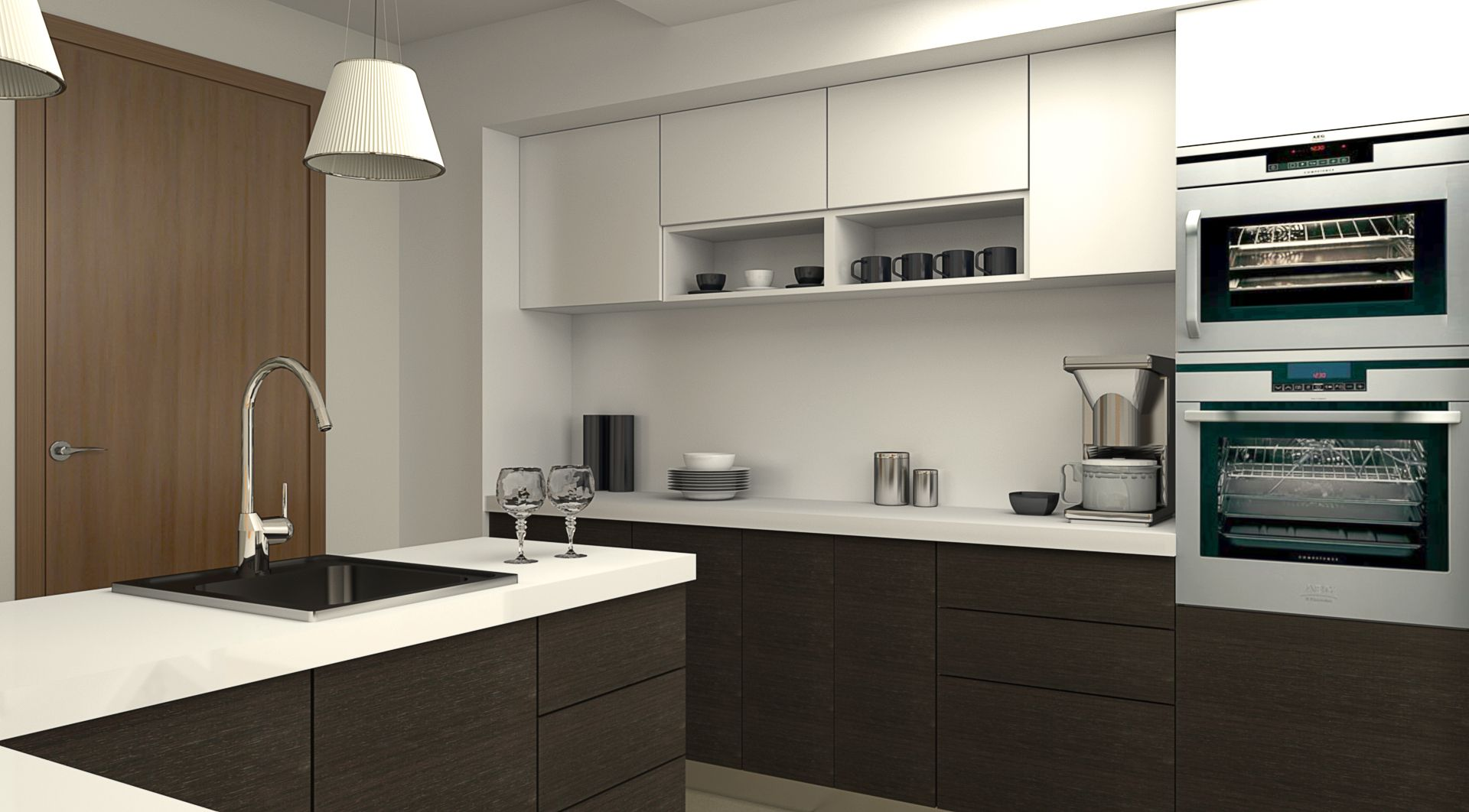 Browse And Chose Awesome Island Modular Kitchens From Krios Classy Kitchen 3D Design Design Decoration