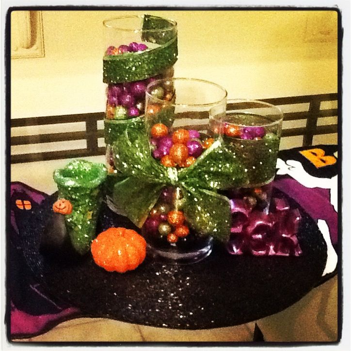 Halloween centerpiece For the Home Pinterest Centerpieces - halloween centerpiece