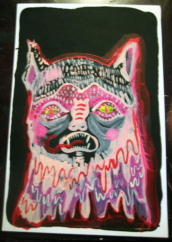 CatBat Demon from galaxy Meowtron original by VANESSAHHHHHH, $13.00