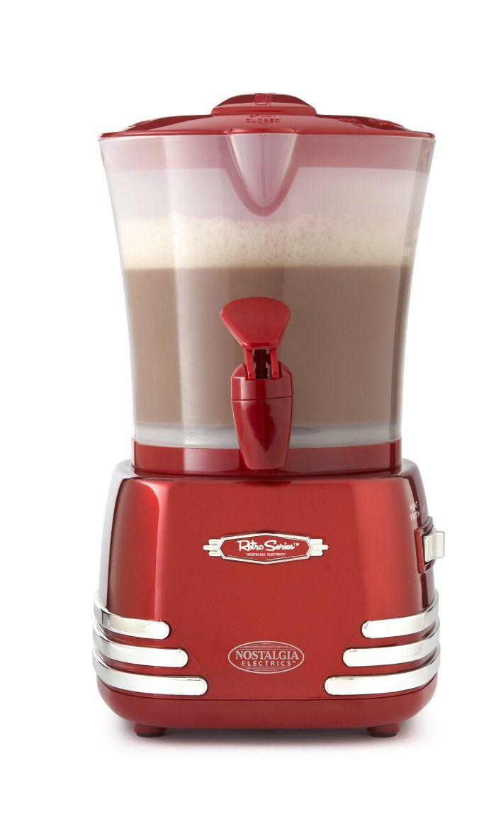 Nostalgia Electrics hot chocolate maker | Where the Heart Is ...