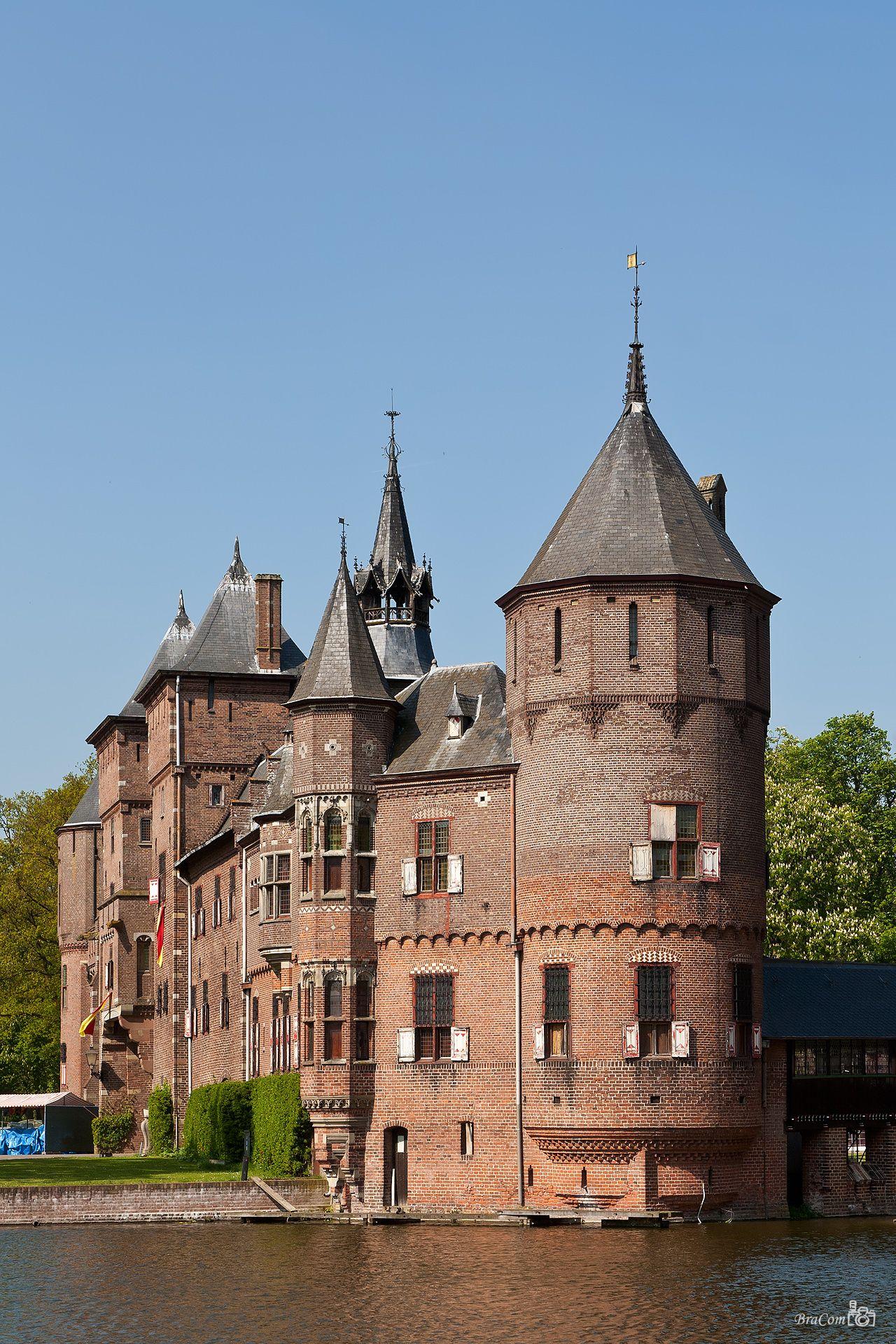 Обои нидерланды, замок, утрехт. Города foto 19