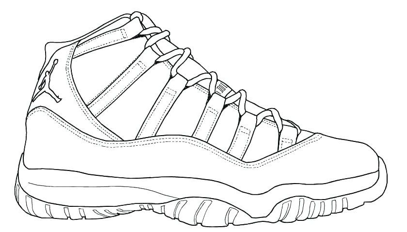 Air Jordan Coloring Pages Iby7 Air Jordan Coloring Pages 5032