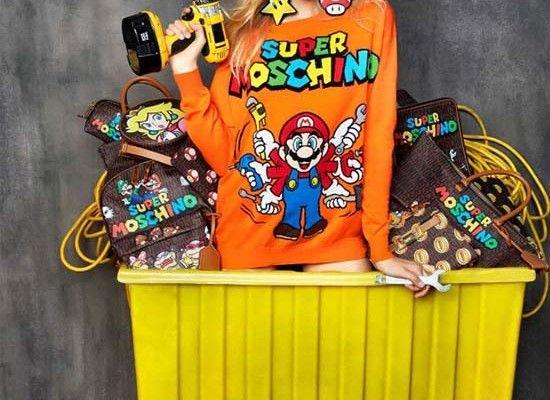 Moschino Unveils a 'Super Mario' Inspired collection #Moschino #SuperMario #Nintendo