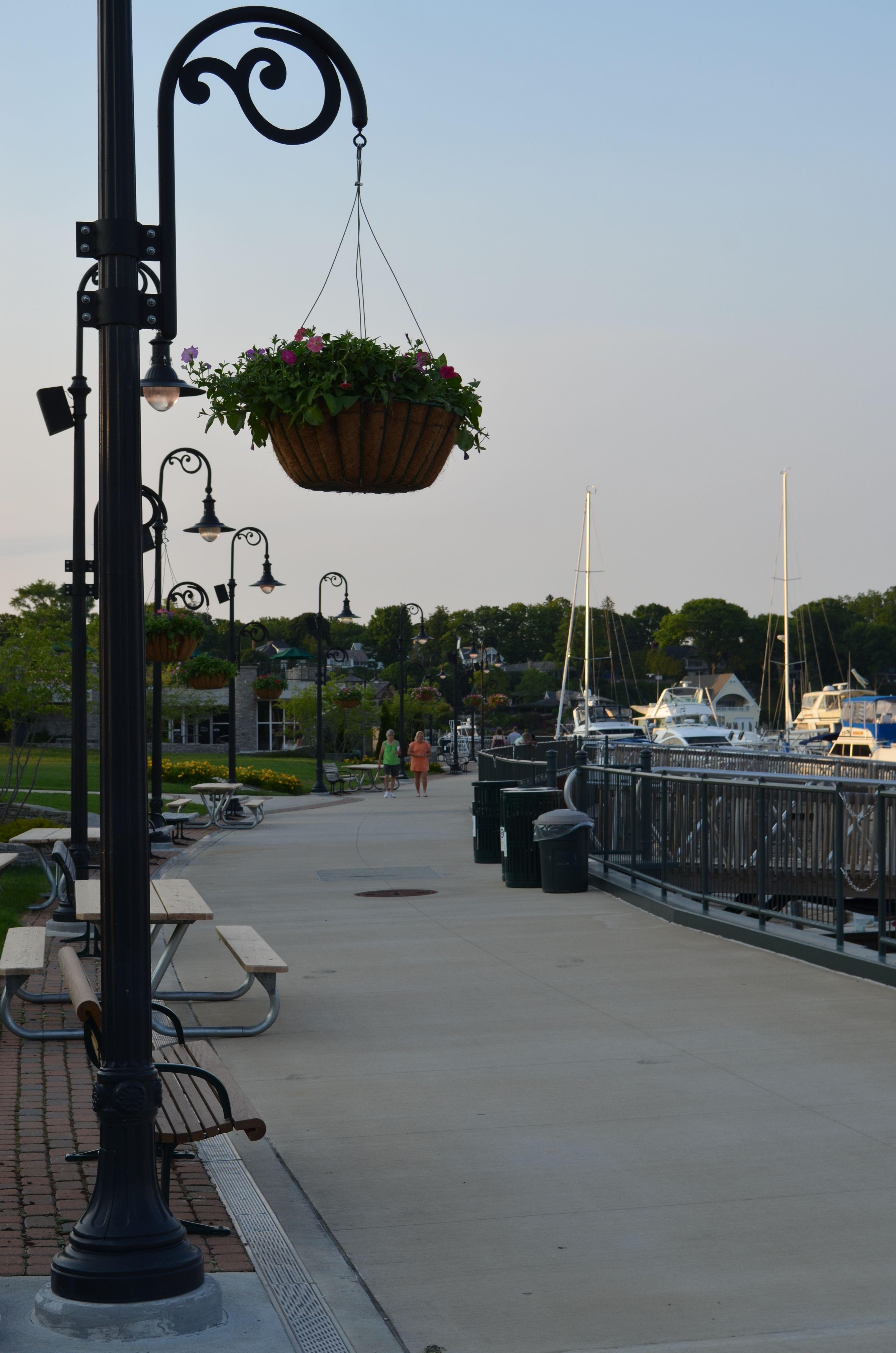 Marina At Charlevoix Mi Michigan My Home State Pinterest