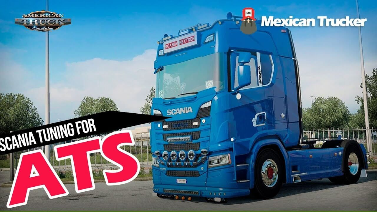 Scania S730 Tuning Truck Mod American Truck Simulator in