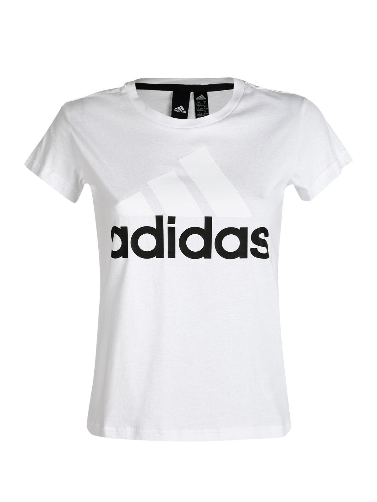 promozione speciale elegante e grazioso prezzo favorevole Essential Logo - t-shirt bianca in cotone | Adidas, Abbigliamento ...