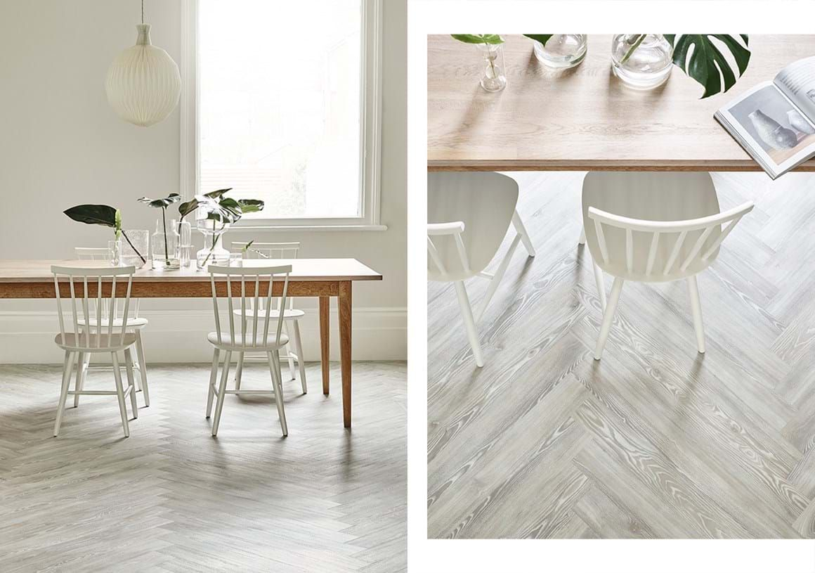 Image result for white plank herringbone floor Vinyl