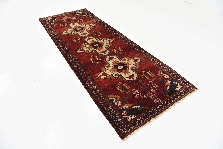 3' 8 x 10' 1 Shahsavand Persian Runner Rug Persian rug