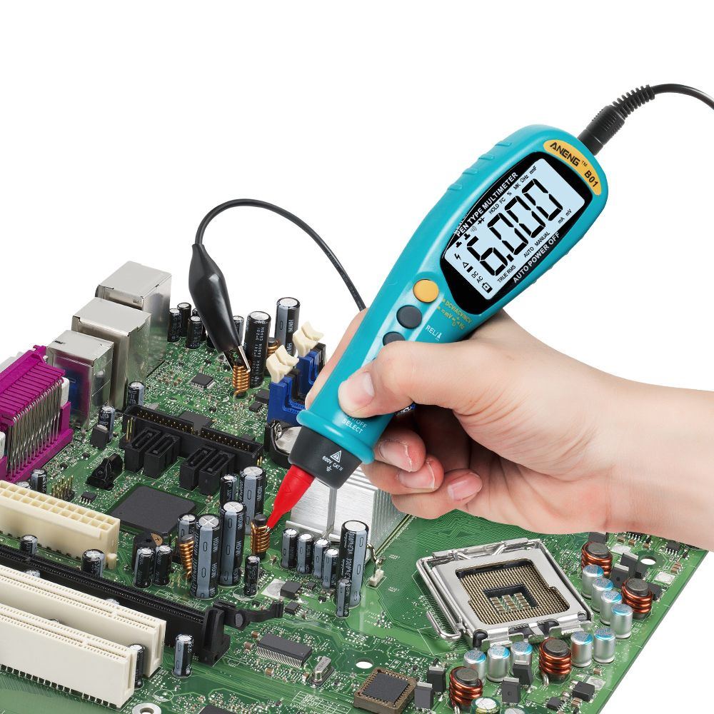Aneng B01 Pen Type Digital True Rms Multimeter Multimeter Ac Dc Voltage Rms