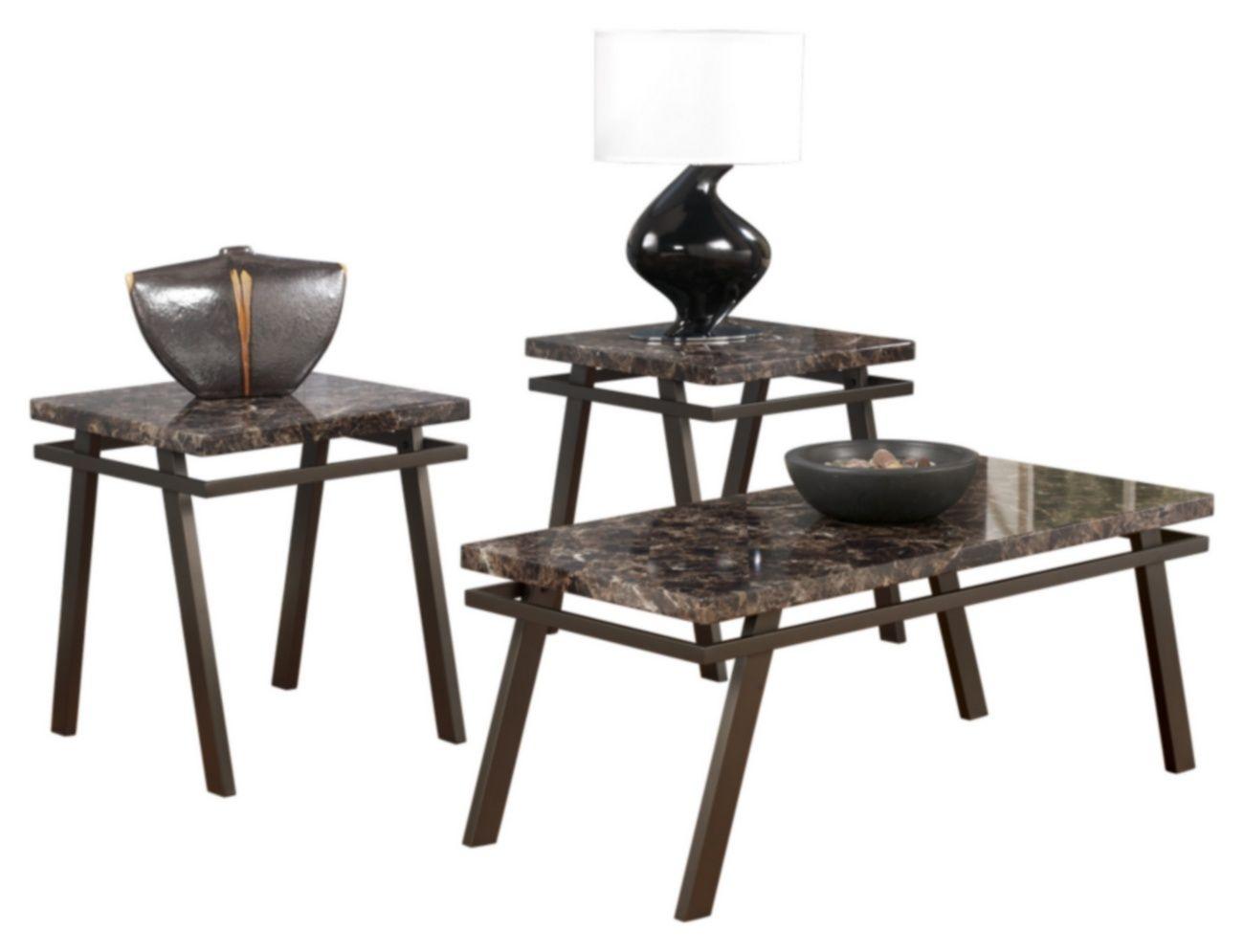 Best Signature Design Paintsville Occasional 3 Pc Table Set 400 x 300