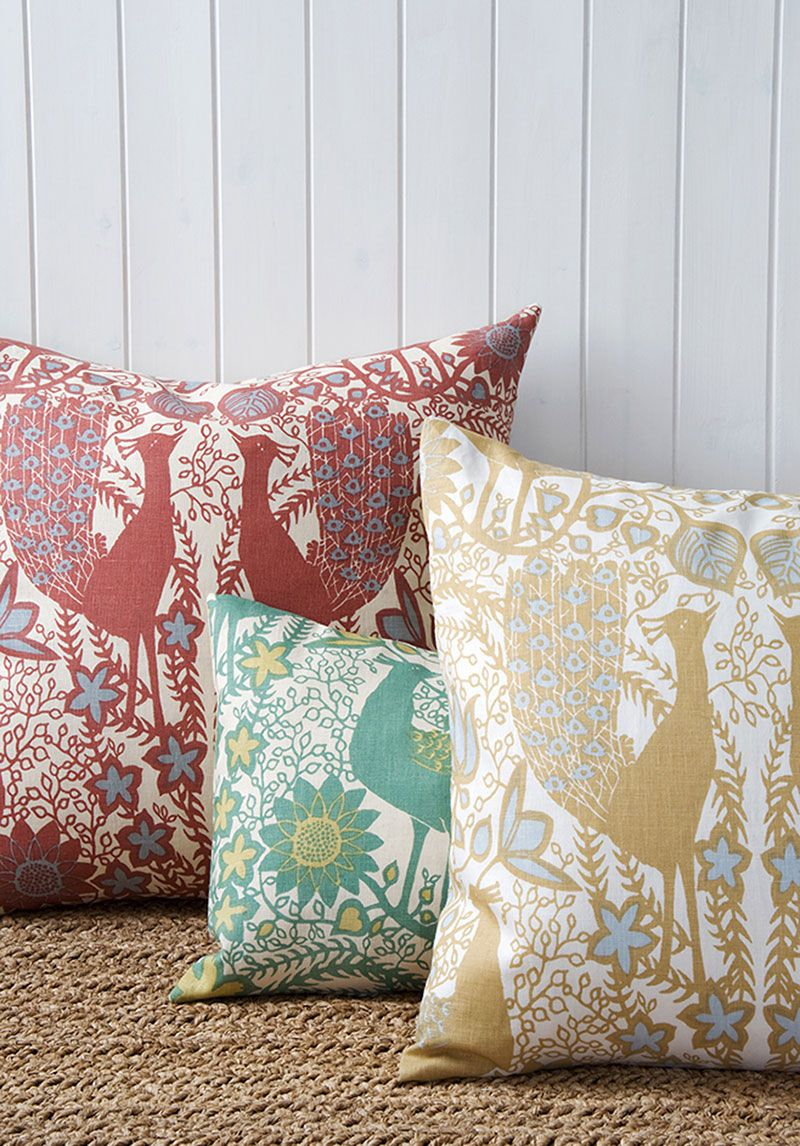 Original fabric by Marthe Armitage, Lewis & Wood