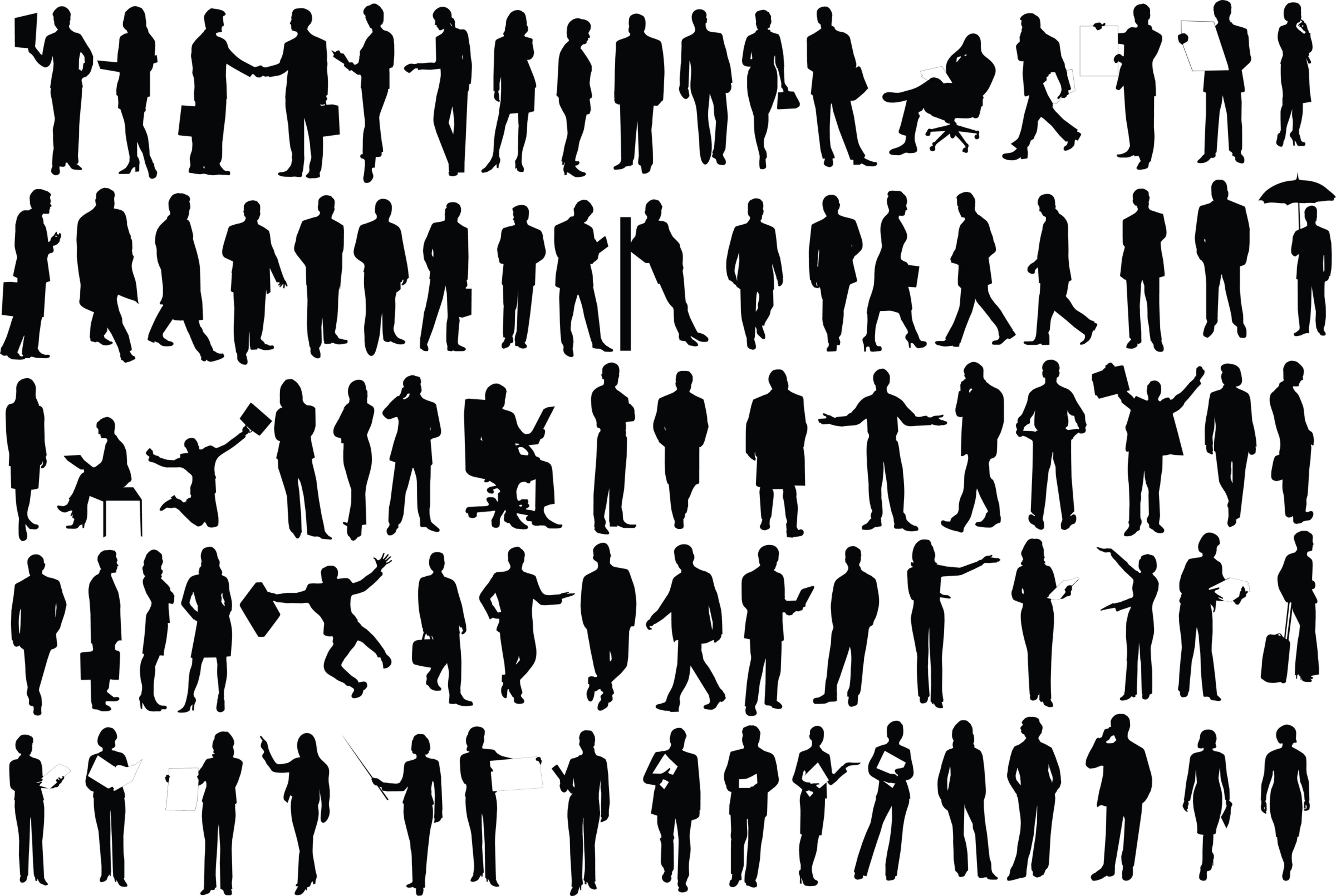 What Is Humoma Silhouette People Human Shadow Silhouette