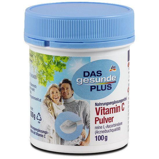 Das Gesunde Plus Vitamin C Pulver Vitamine Mineralien Bei Dm Online Bestellen