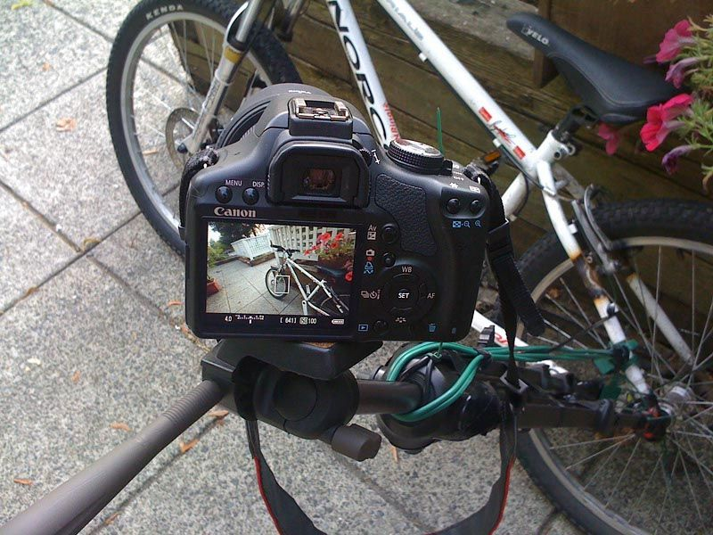 Diy Bicycle Dslr Camera Mount Cameras And Accessories