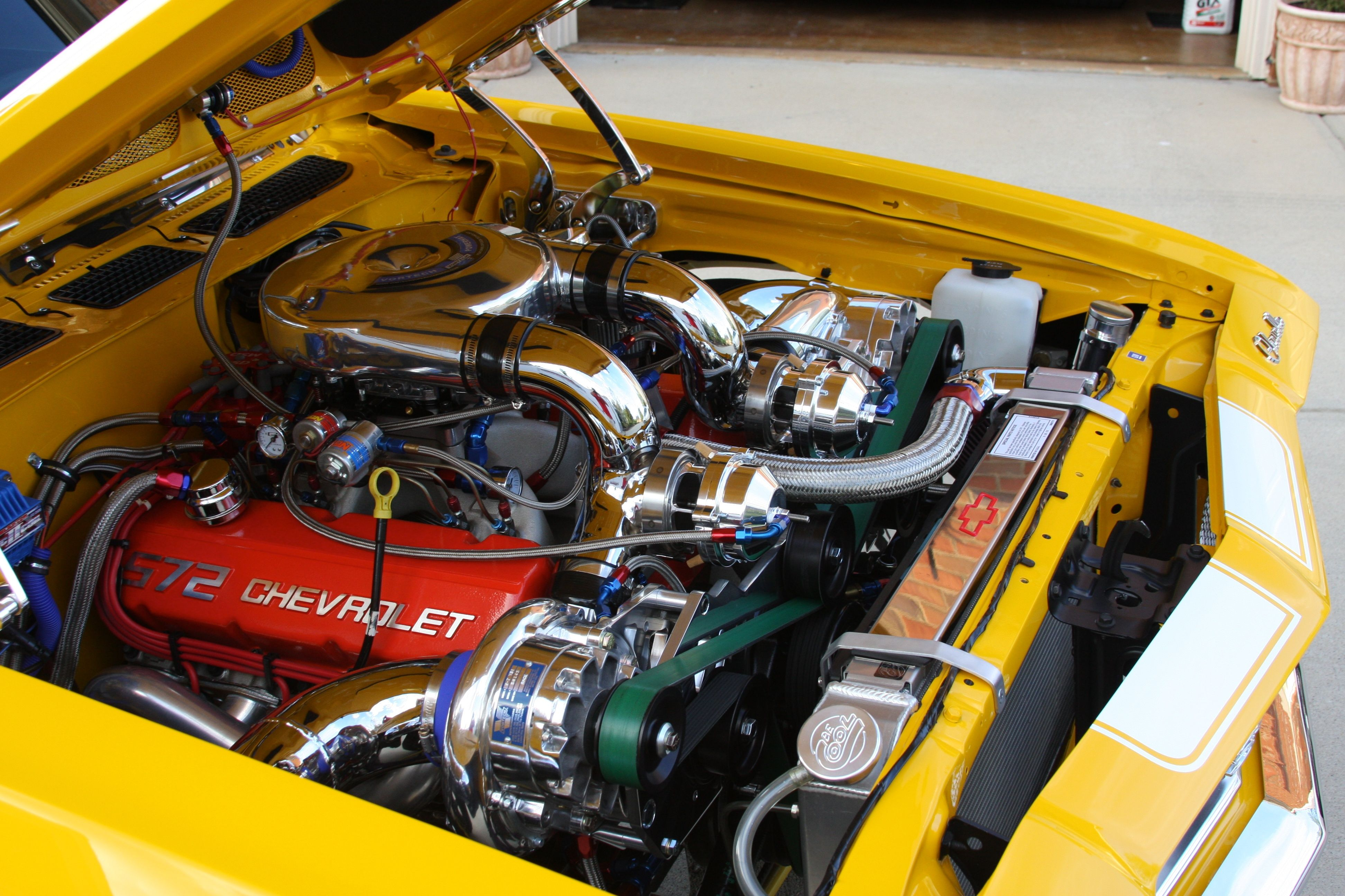 572 Chevy Big Block Twin Supercharged | Boot | Chevy, Truck