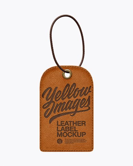 Download Leather Label With Rope Mockup In Object Mockups On Yellow Images Object Mockups Mockup Free Psd Leather Label Mockup Free Download Yellowimages Mockups