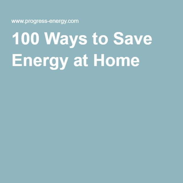 100 Ways to Save Energy at Home | !Budgeting and Saving Money