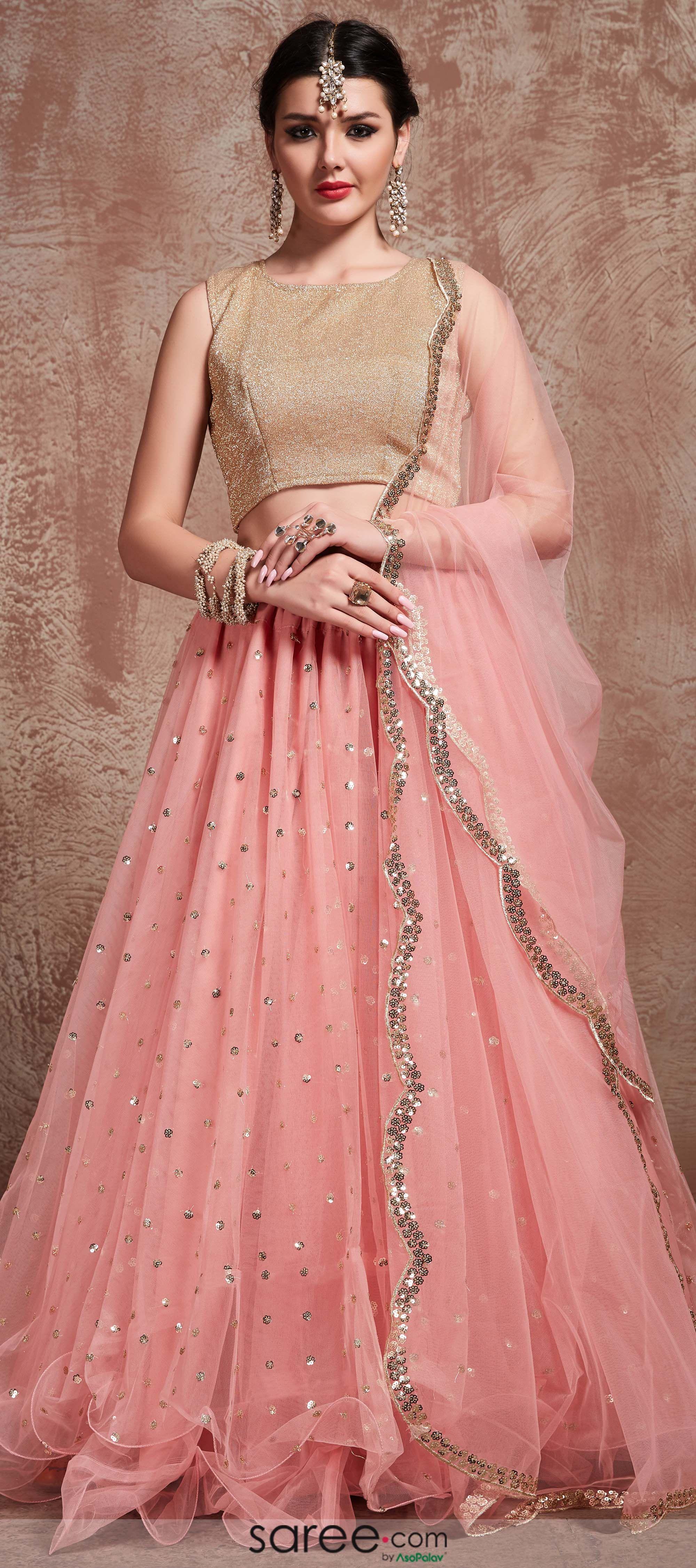 bridal wedding outfit wardrobe lehenga choli Taffeta Silk Evening Party Wear Lehenga Choli for Australia bridal online shopping