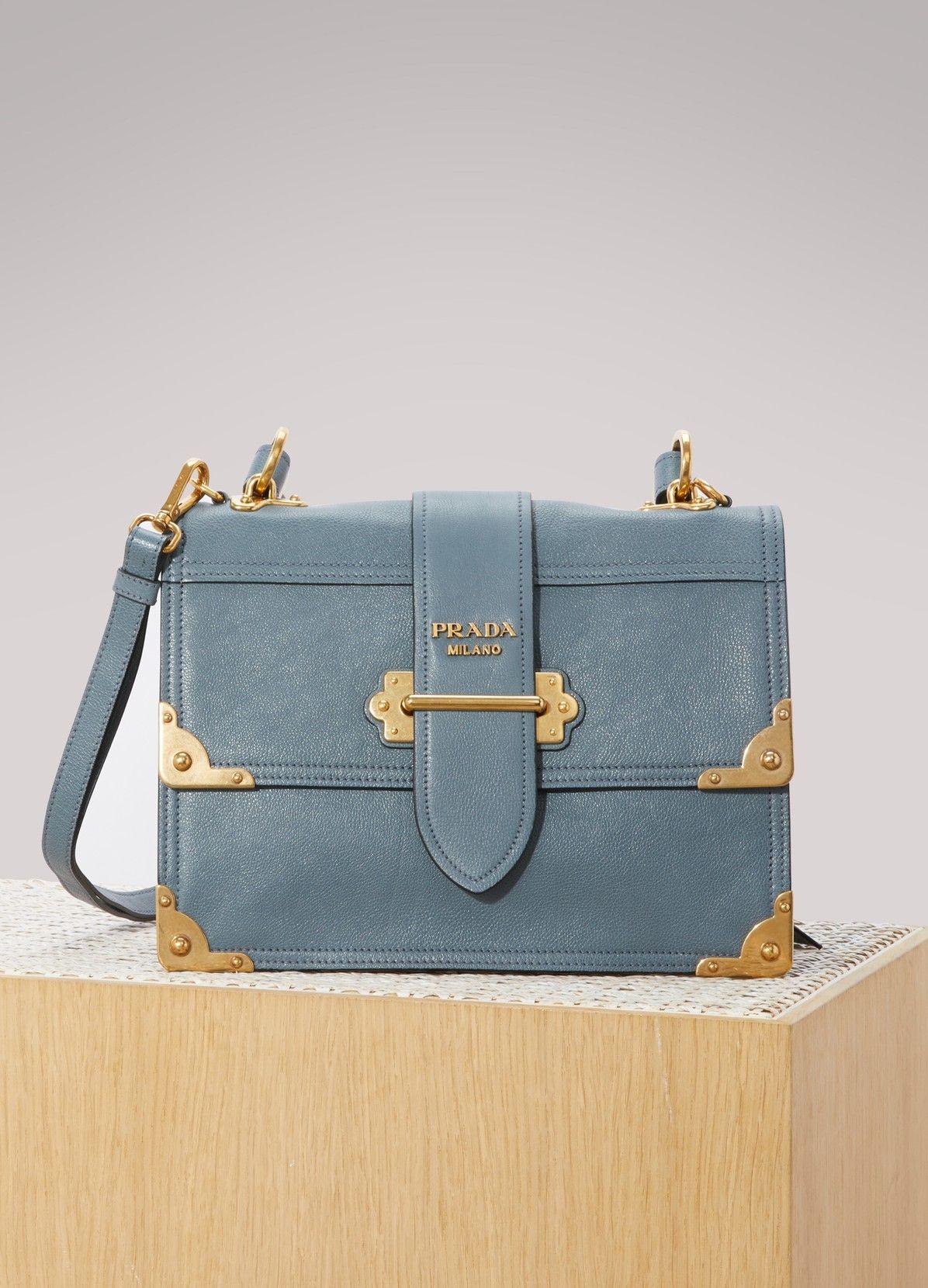 9a1fe167b392 PRADA Cahier shoulder bag