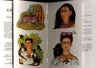 Frida Painting Tattoo By Tattoo Dam Dam Tattoodam Fridakahlotattoos Color Fineart Fridakahlo Monkey Cat H Frida Kahlo Tattoos Tattoos History Tattoos
