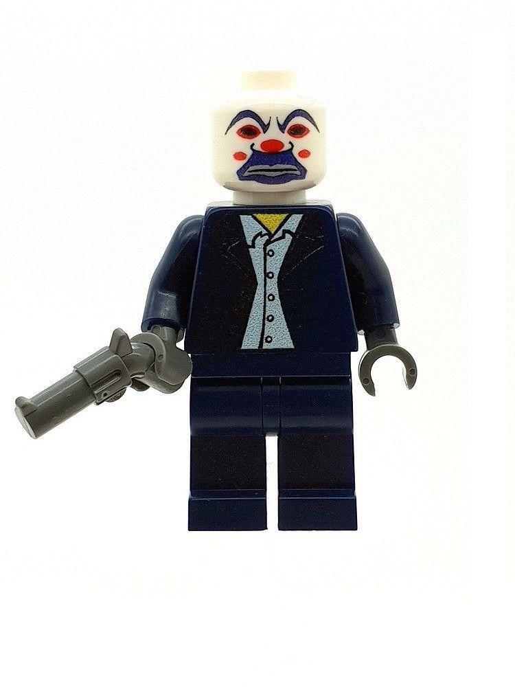 MADE OF GENUINE LEGO PARTS LEGO DARK KNIGHT BATMAN LUCIUS FOX MINIFIGURE DC