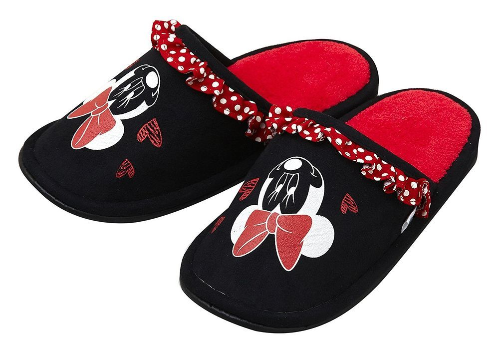 New! Minnie Mouse Slippers Sandals Disney Japan F/S #Disney