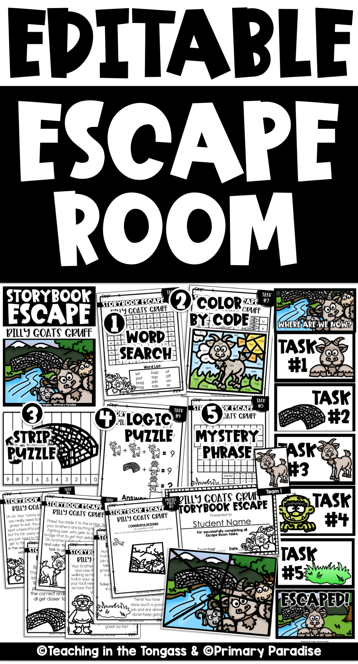 Bring Year Long Escape Room Fun To Your Classroom With