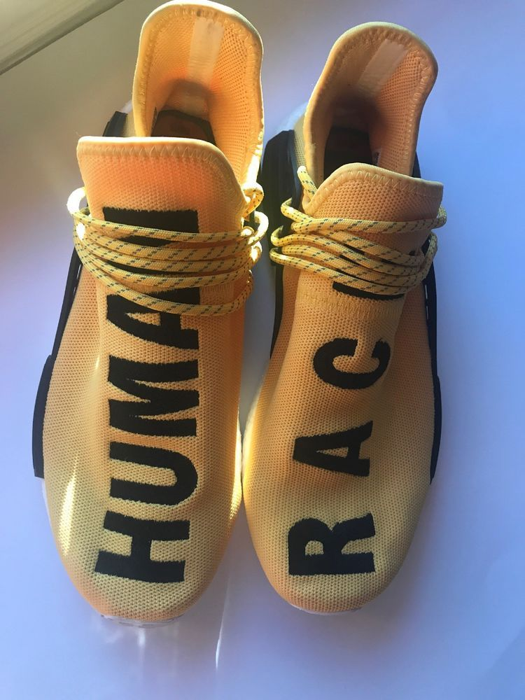 2880a7dcd2c68 Adidas NMD HU Pharrell Human Race Yellow (SIZE 12 - damaged box)  fashion   clothing  shoes  accessories  mensshoes  athleticshoes (ebay link)