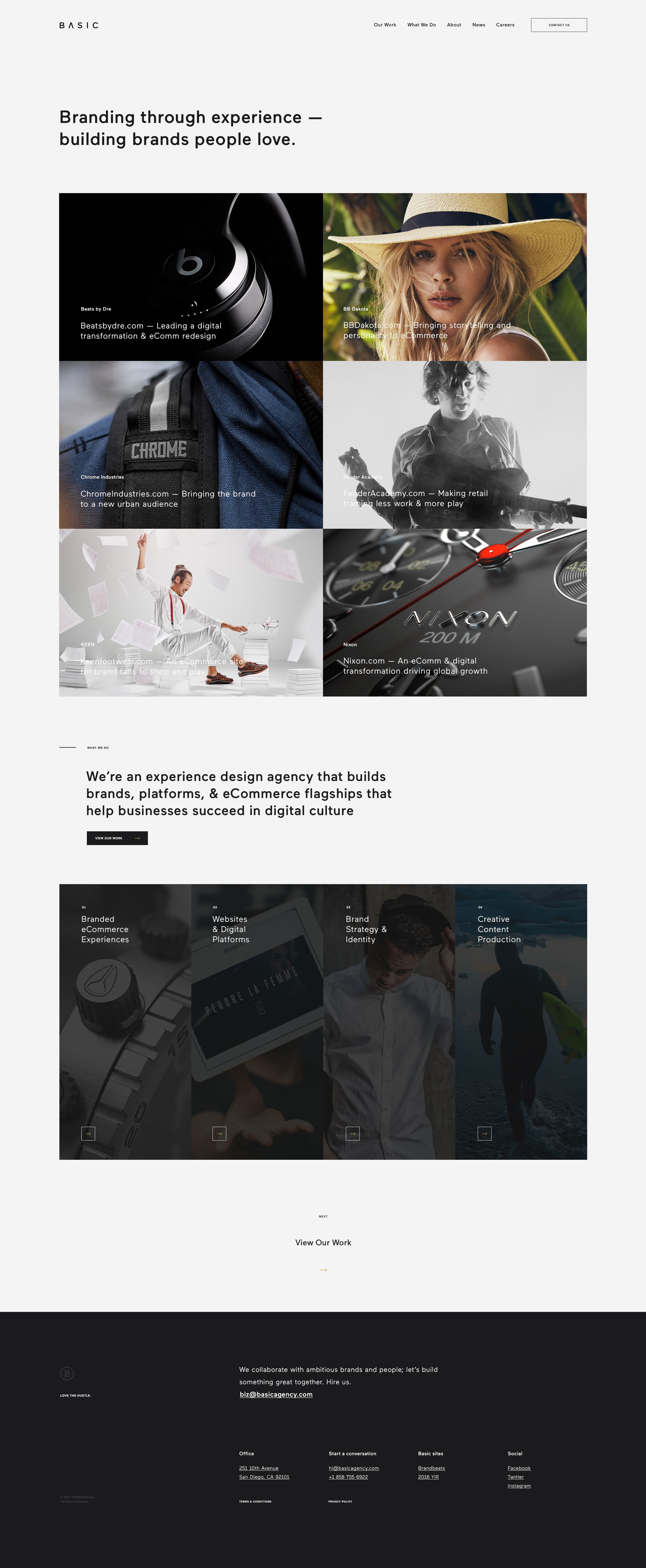 Basic Agency Website Design 2 2 Agency Website Design Website Design Web Design Agency