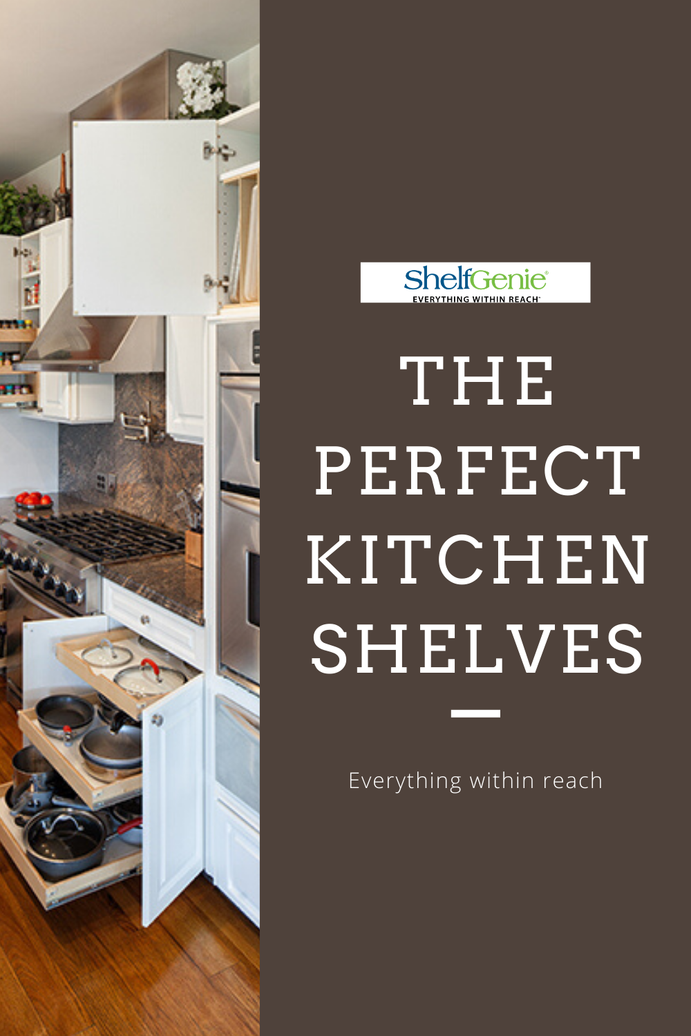 Perfect pull-out shelves for kitchen, bathroom, and pantry ...