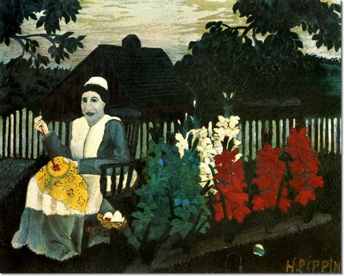 The Life And Art Of Horace Pippin Art Horace Pippin Naive Art