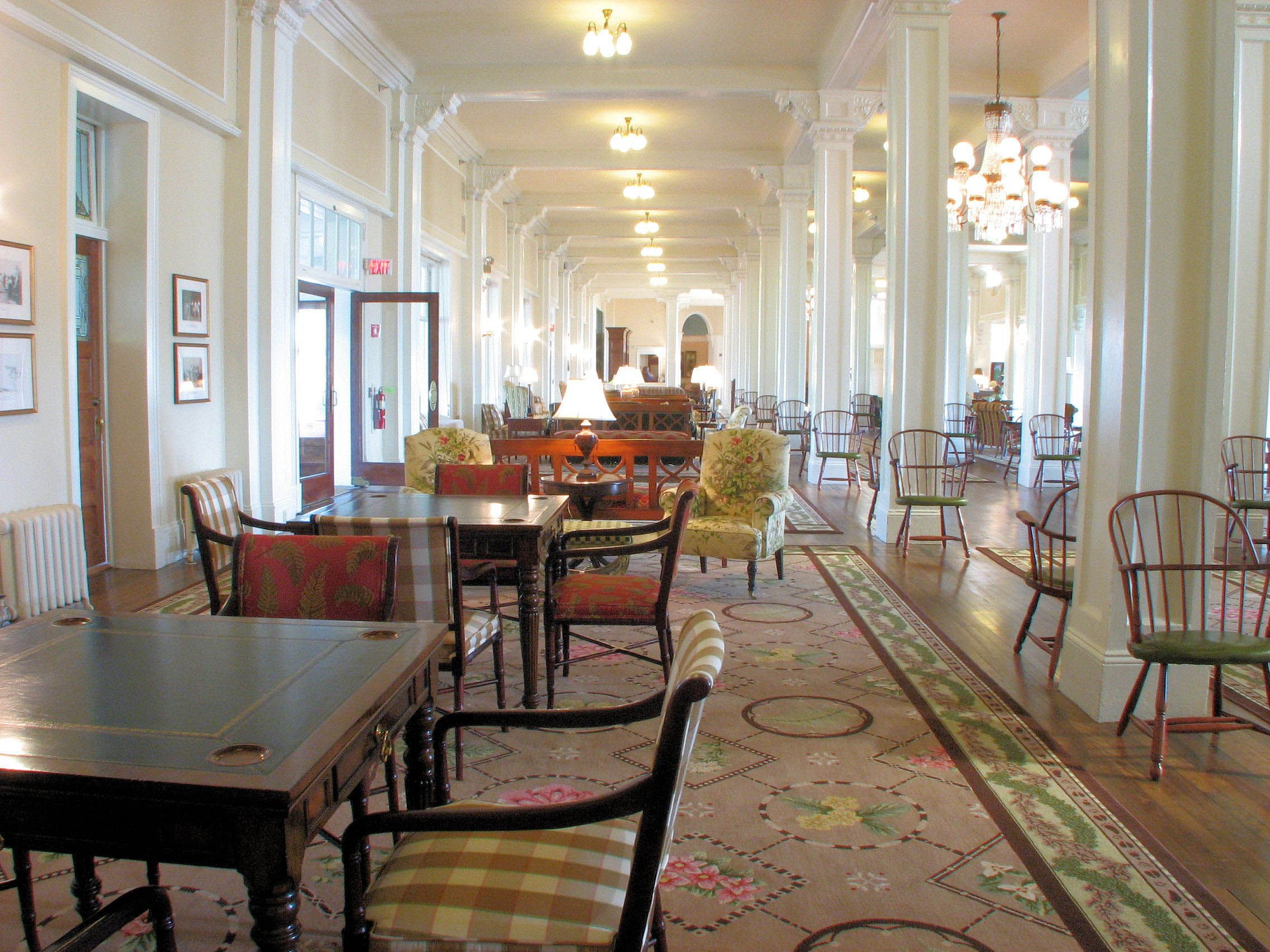 Romantic destinations bretton woods new hampshire mount washington hotel interior