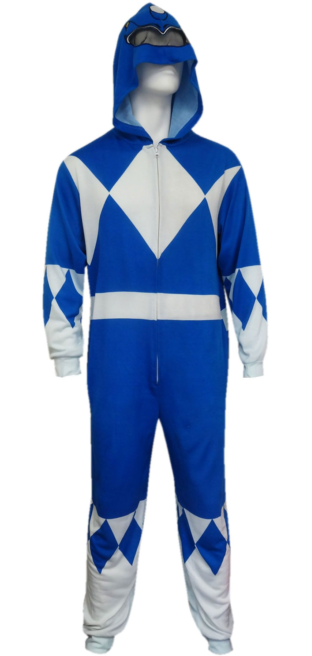 6d8e140614 Mighty Morphin Power Rangers Blue Ranger Onesie Pajama