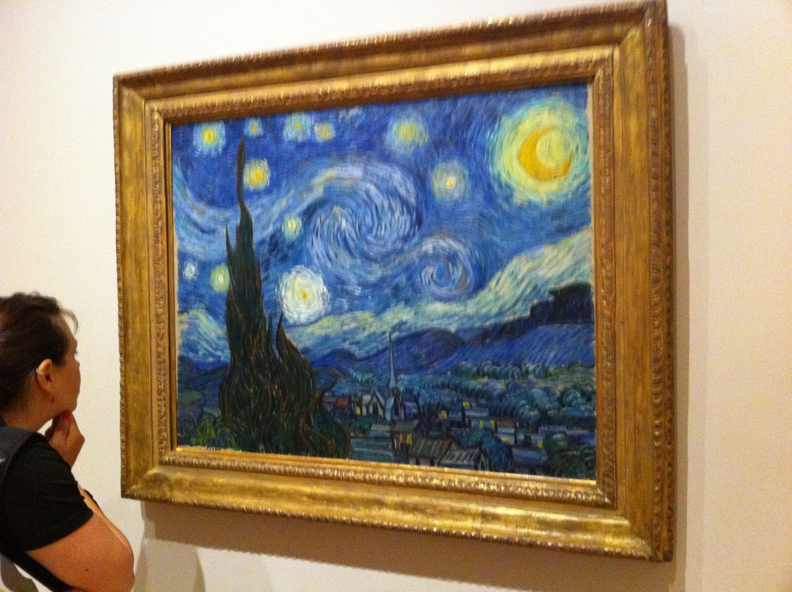 Starry Night Van Gogh Moma Museum Of Modern Art