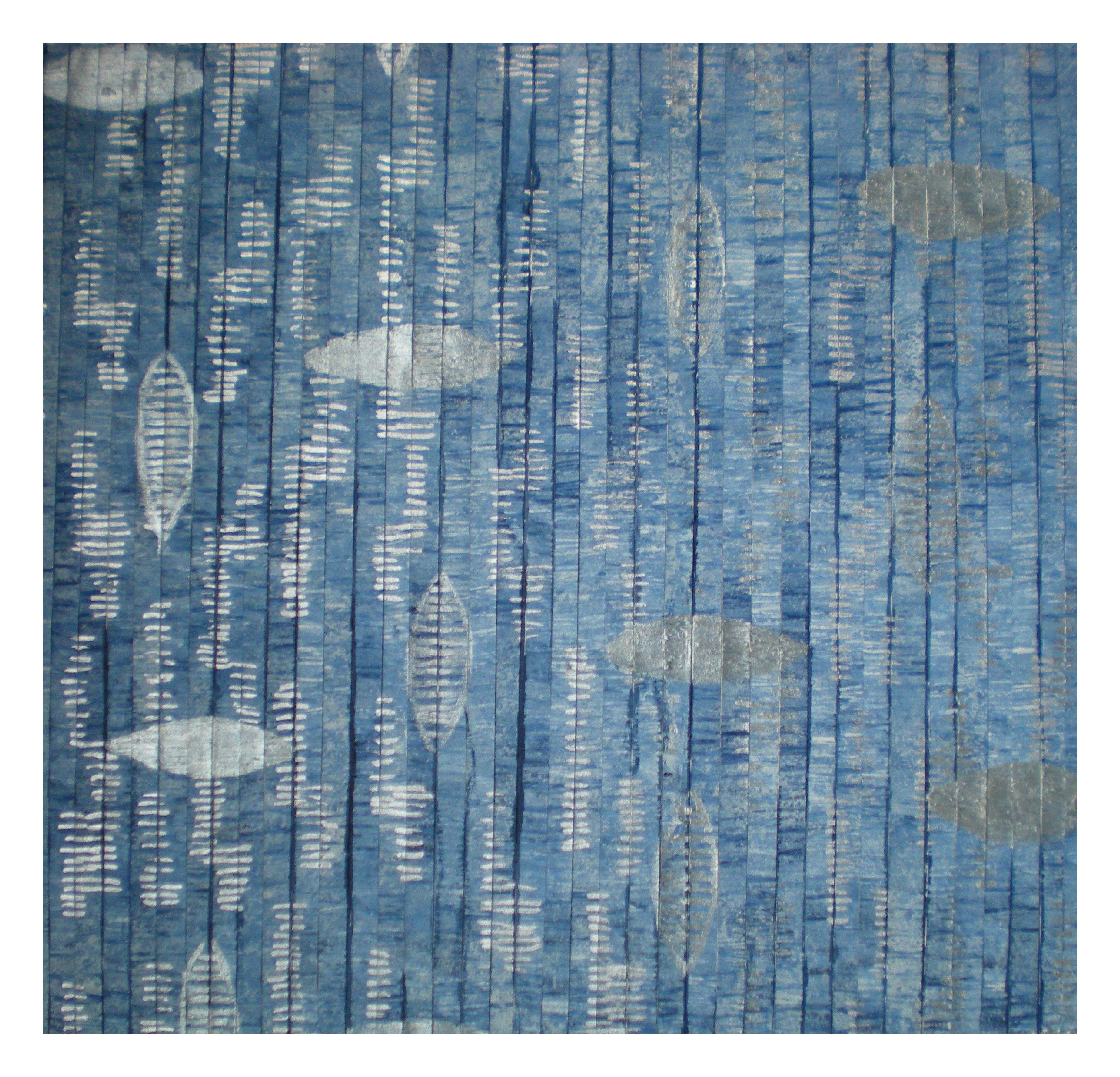 blauw en zilver2 - Ankie Prij