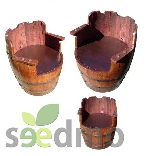 Muebles y #decoración Butaca de barrica compra Online. | Fıçı işleri ...
