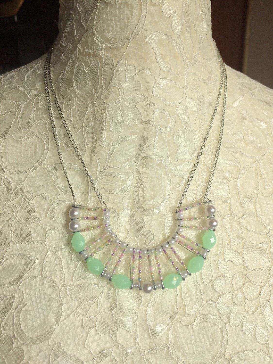 A personal favourite from my Etsy shop https://www.etsy.com/uk/listing/498992046/lydia-necklace