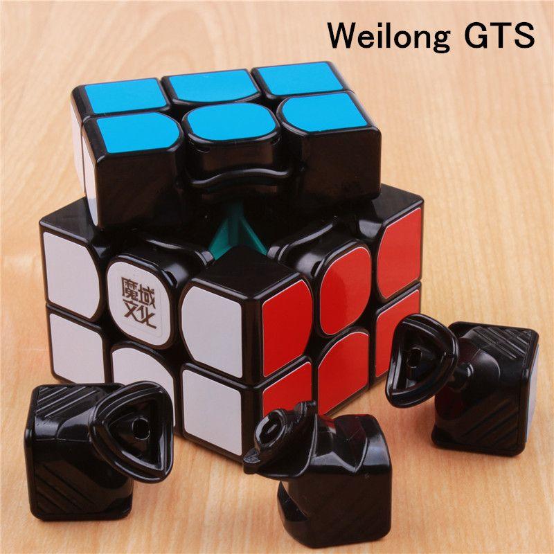 Moyu weilong gts 퍼즐 매직 큐브 속도 입방정 magico profissional 장난감