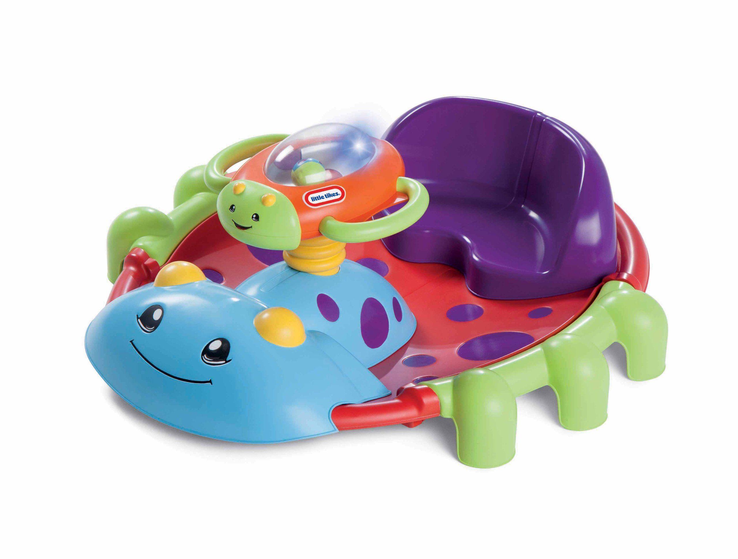 Little Tikes Activity Garden Rock 'n Spin Baby activity