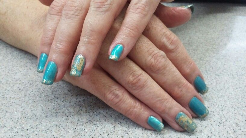 Shellac with african jade foil my nail designs pinterest shellac with african jade foil prinsesfo Images