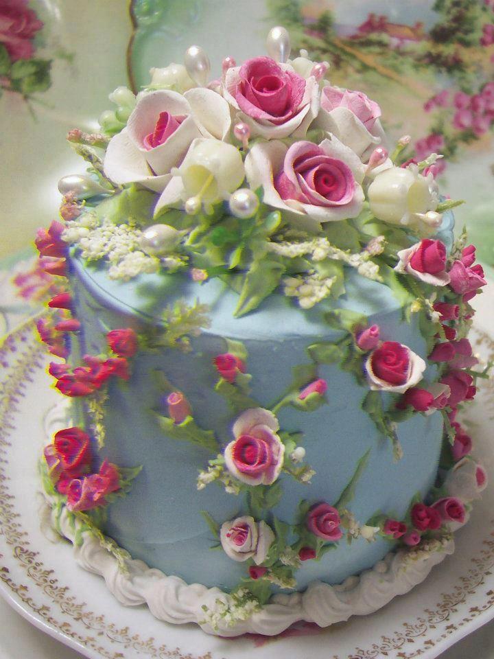 tea cake-- such a work of art!