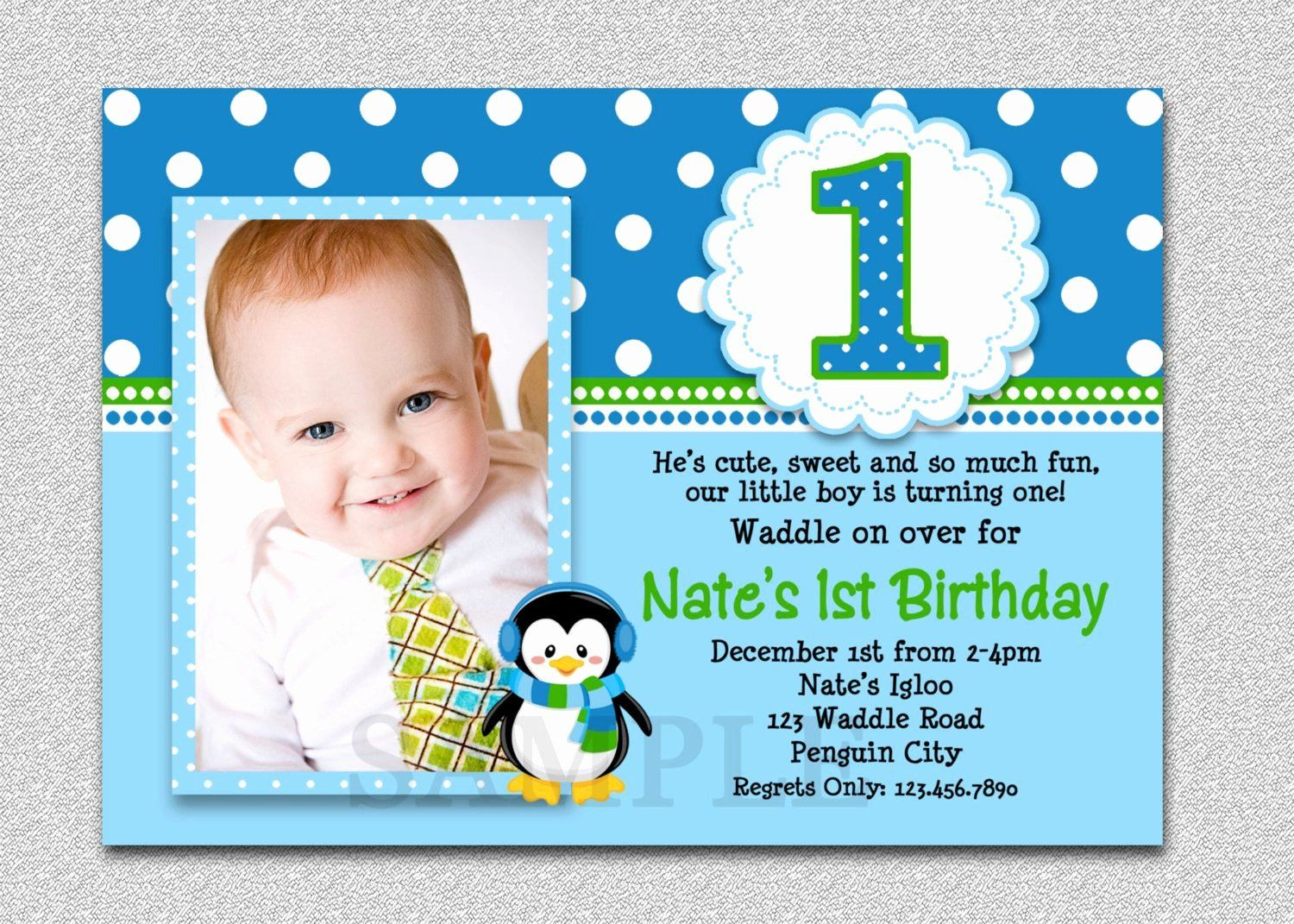 First Birthday Invitation Template Free Beautiful 4st Birthday