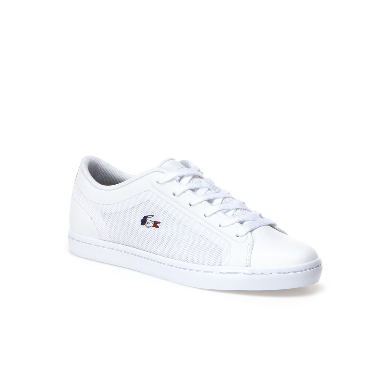 b463406a61680 Straightset sneakers in high-tech canvas with French flag croc Lacoste  Trainers