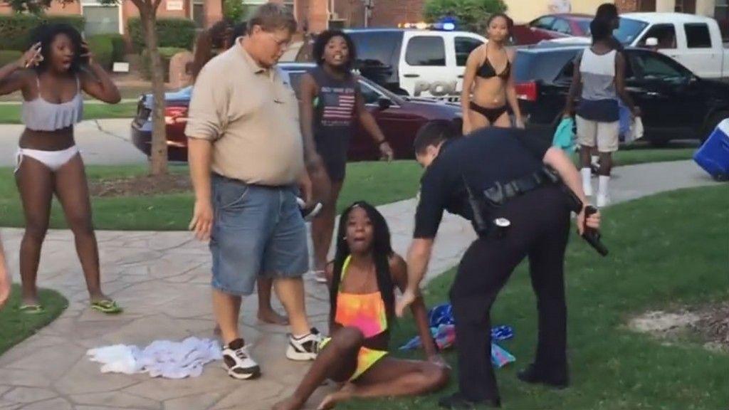 Ebony Teen Caught